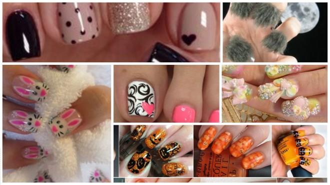 nail arts muito feias
