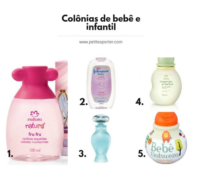 colonias infantis