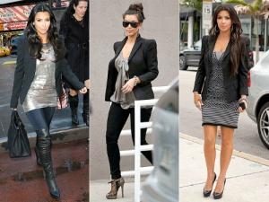 Kim kardashian look repetido