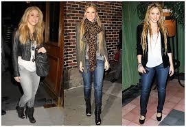 Shakira calca jeans