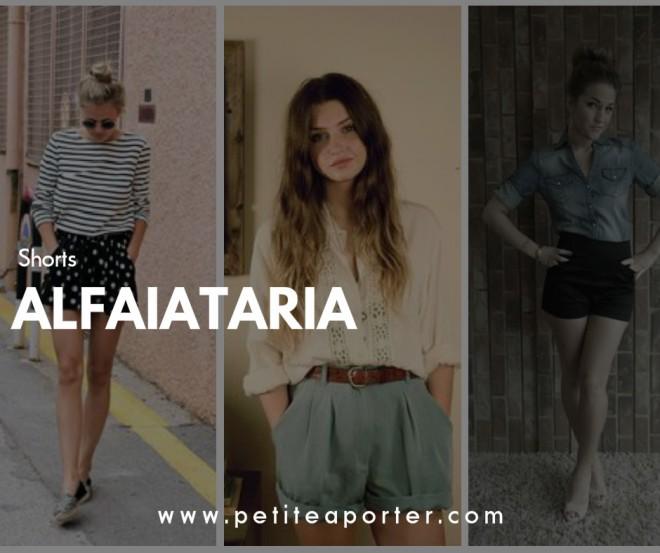 SHORTS DE ALFAIATARIA COMO USAR