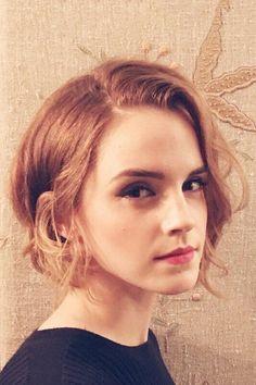 emma watson cabelo curto