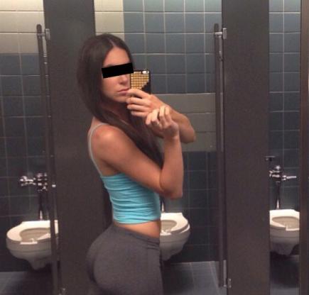 foto do pandeiro no banheiro