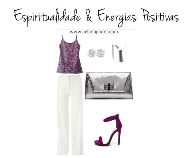 roxo expiritualidade e energia positiva