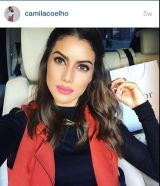 selfie camila coelho
