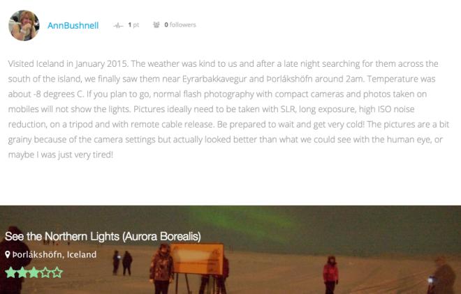 ver a aurora boreal