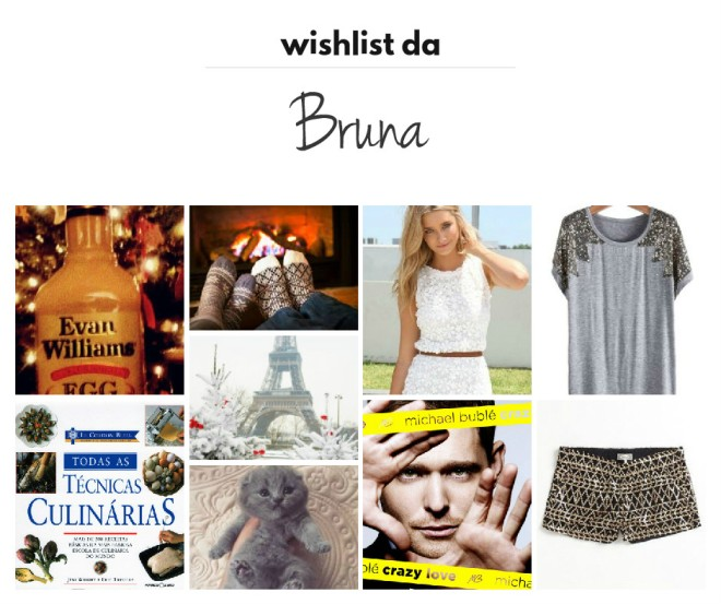 wishlist da bruna