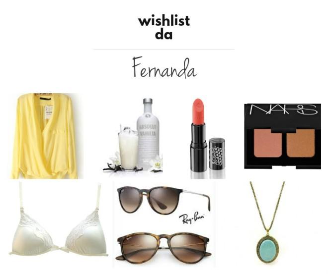 wishlist fernanda