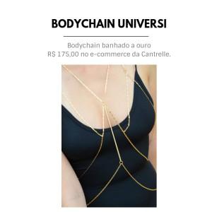 bodychain banhado a ouro cantrelle