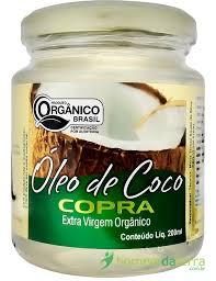 oleo de coco copra para os cabelos e pele