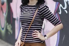 blusa listrada