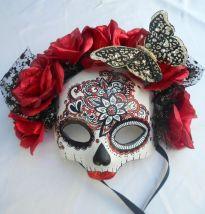mascara de caveira mexicana