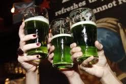 cerveja verde st patrick