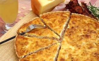 Culinária francesa - Quiche Lorraine