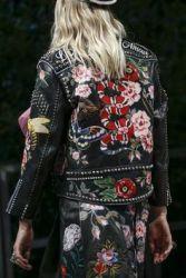 jaqueta de couro gucci