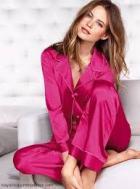 pijama de seda