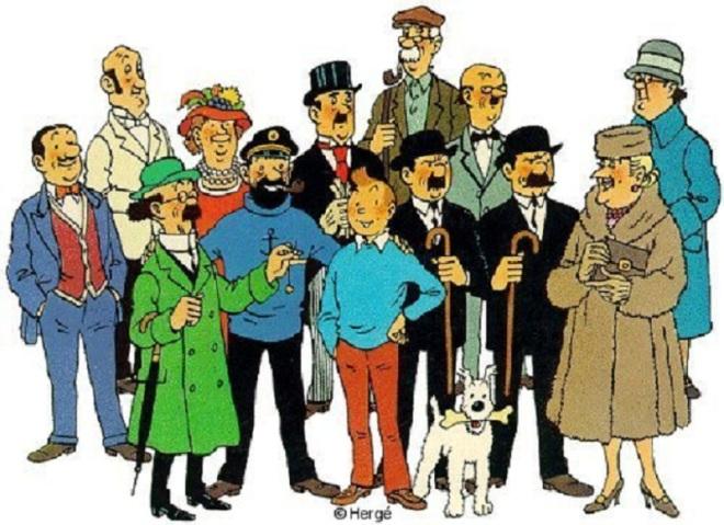 Tintinpersonagens