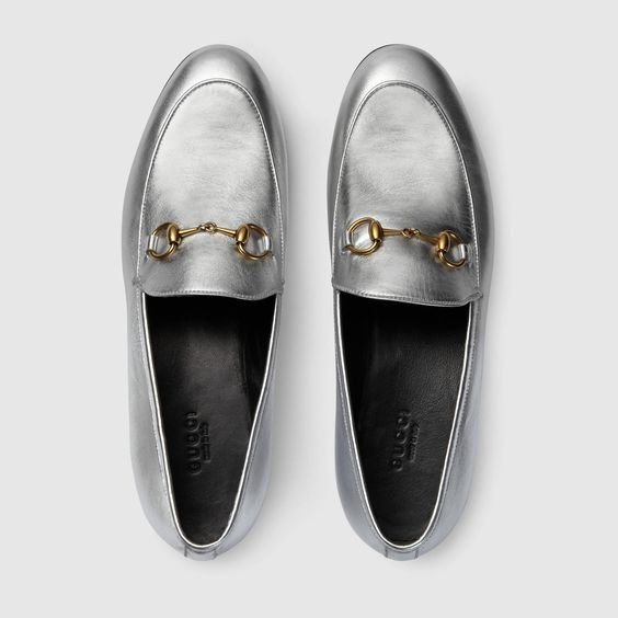 gucci loafer prata