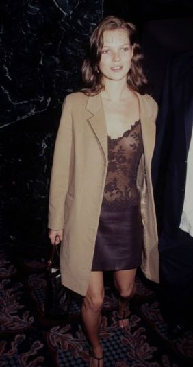 kate moss anos 90 slip dress