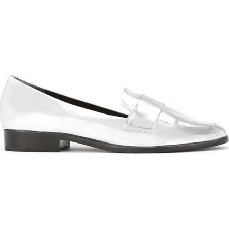 loafer schutz prata