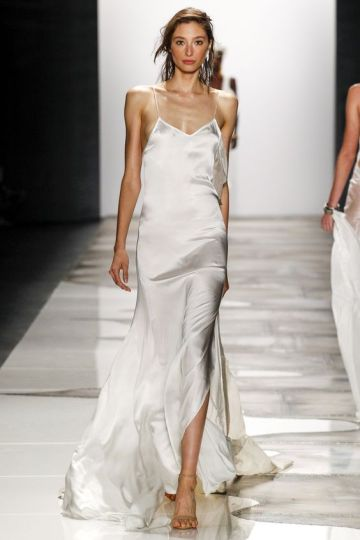 slip dress de noiva ralph lauren