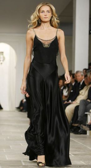 slip dress ralph lauren