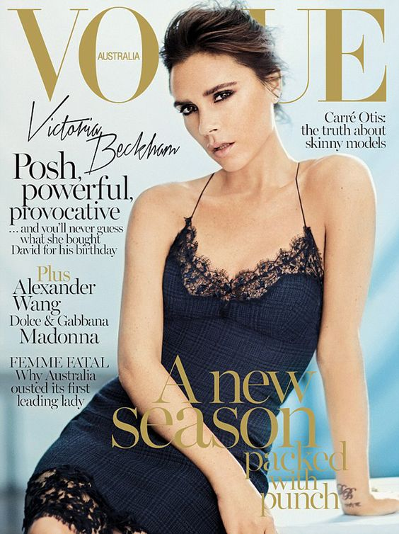 slip dress victoria beckham vogue australia