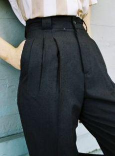 alfaiataria cintura alta