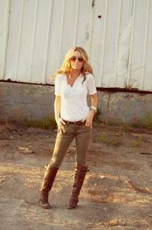 bota montaria com jeans skinny