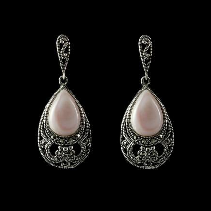 brinco-balanco-envelhecido-c-madreperola-rosa-44030-original prata fina