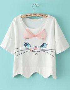 camiseta de gatinho