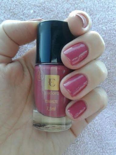 esmalte rosa maravilha eudora