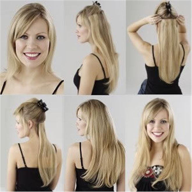 mega hair de clips como colocar