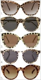 oculos animal print