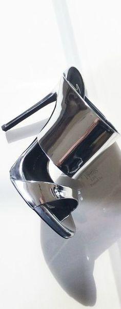 mule metalica prata guiseppe zanotti