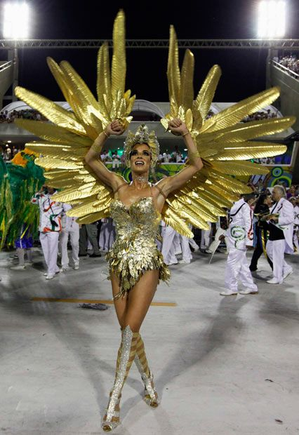 passista de escola de samba