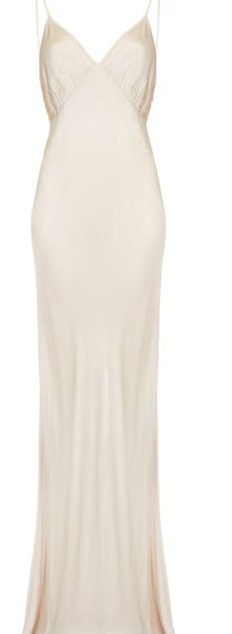 slip dress nude