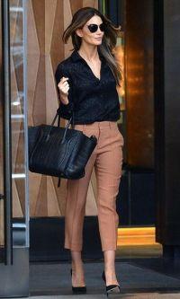 Bolsa Preta + Camisa + Calça