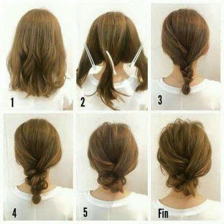 tutorial trança cabelo médio