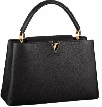 Bolsa Preta Louis Vuitton