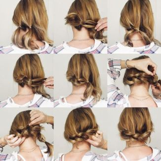 como fazer trança no cabelo curto para festas