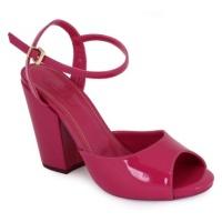 Sandália Salto Block pink WJ