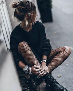 meia calça arrastão com bota