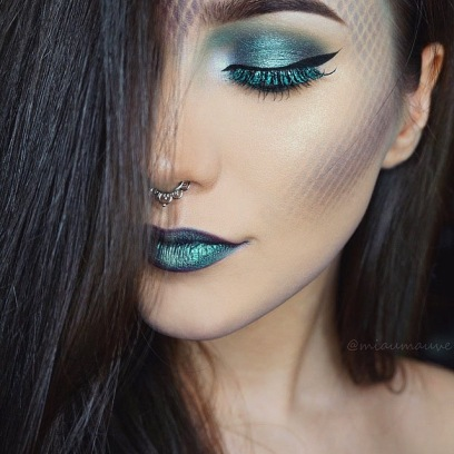 mermaid makeup tendencias tabu post dicas