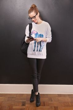 unicornio moda tabu post dicas como usar moleton