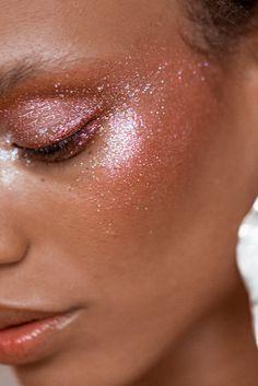 make glitter rosa