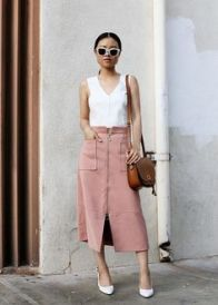 millennial pink + white