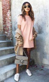 vestido rosa millennial